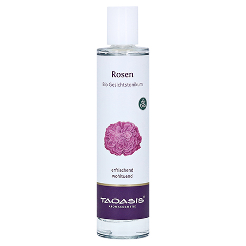 Taoasis Rosen Gesichtstonicum Bio Spray 50 Milliliter