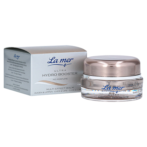 LA MER Ultra Hydro Booster Multi Effect Balm Augen & Lippen ohne Parfüm 15 Milliliter