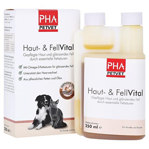 PHA Haut- und FellVital flüssig f.Hunde 250 Milliliter