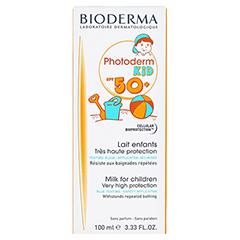 BIODERMA Photoderm KID Sonnenmilch SPF 50+ 100 Milliliter - Vorderseite