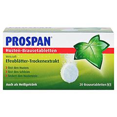 Prospan Husten-Brausetabletten 20 Stück N1 - Vorderseite