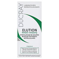 DUCRAY ELUTION aktiver Schutz Shampoo 200 Milliliter - Vorderseite