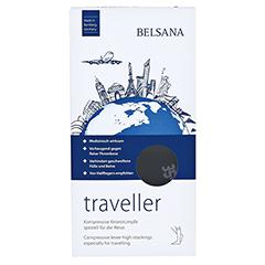 BELSANA traveller AD S schwarz Fuß 1 35-38 2 Stück - Vorderseite