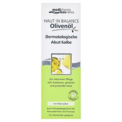 HAUT IN BALANCE Olivenöl Derm.Akut Salbe 75 Milliliter - Vorderseite