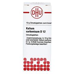KALIUM CARBONICUM D 12 Globuli 10 Gramm N1 - Vorderseite