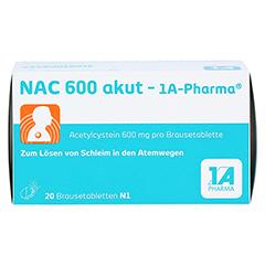 NAC 600 akut-1A Pharma 20 Stück N1 - Vorderseite