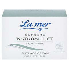 LA MER SUPREME Natural Lift Anti Age Cream Auge ohne Parfüm 15 Milliliter - Vorderseite