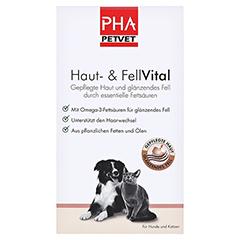 PHA Haut- und FellVital flüssig f.Hunde 250 Milliliter - Vorderseite