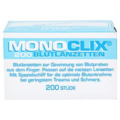 MONOCLIX Universal Blutlanzetten C285021 200 Stück - Vorderseite