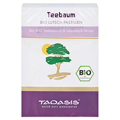 Taoasis Teebaum Pastillen 30 Gramm - Vorderseite