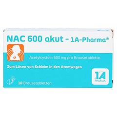 NAC 600 akut-1A Pharma 10 Stück - Vorderseite