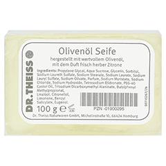 DR.THEISS Olivenöl-Seife 100 Gramm - Vorderseite