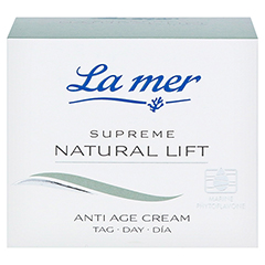 LA MER SUPREME Natural Lift Anti Age Cream Tag 50 Milliliter - Vorderseite