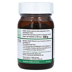 SPIRULINA MIKROALGEN 400 mg Sanatur Tabletten 250 Stück - Linke Seite