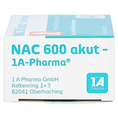 NAC 600 akut-1A Pharma 10 Stück - Linke Seite
