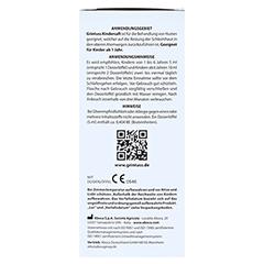 GRINTUSS Kindersaft mit Poliresin 210 Gramm - Linke Seite