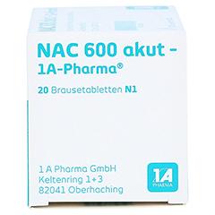 NAC 600 akut-1A Pharma 20 Stück N1 - Linke Seite