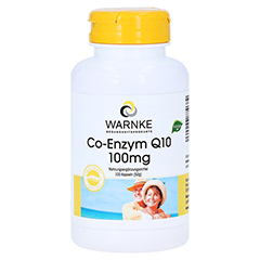 CO-ENZYM Q10 100 mg Kapseln 100 Stück