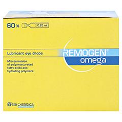 REMOGEN Omega Augentropfen 60x0.25 Milliliter - Linke Seite