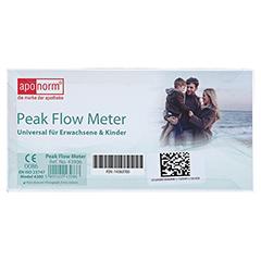 APONORM Peak Flow f.Meter Erwachsene & Kinder 1 Stück - Rückseite