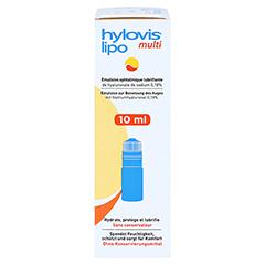 HYLOVIS lipo multi Augentropfen 10 Milliliter - Rechte Seite