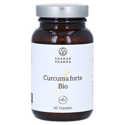 CURCUMA FORTE Bio+Bioperine vegan Kapseln 60 Stück