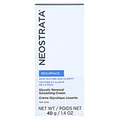 NEOSTRATA Glycolic Renewal Smoothing Cream 10 AHA 40 Gramm - Vorderseite