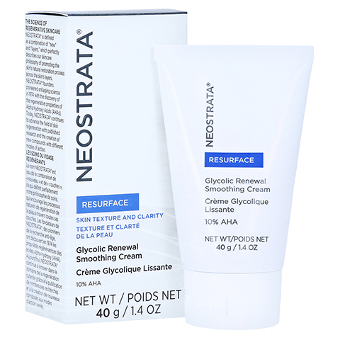 NEOSTRATA Glycolic Renewal Smoothing Cream 10 AHA 40 Gramm