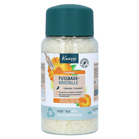 KNEIPP Fußbadekristalle Calendula-Orangenöl 600 Gramm