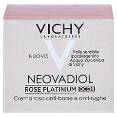VICHY NEOVADIOL Rose Augencreme 15 Milliliter - Rückseite