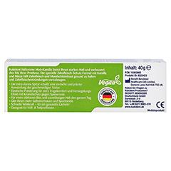 KUKIDENT Haftcreme Med+Kamille 40 Gramm - Rückseite
