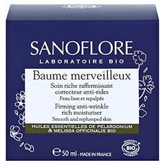 SANOFLORE Merveilleuse Anti-Falten-Balsam 50 Milliliter - Rückseite