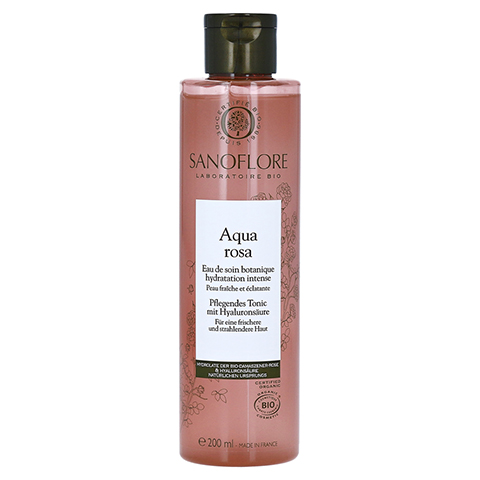 SANOFLORE Rosa Aqua rosa pflegendes Tonic 200 Milliliter