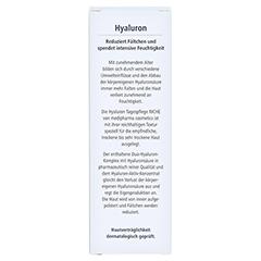 HYALURON Tagespflege riche Creme 50 Milliliter - Rückseite