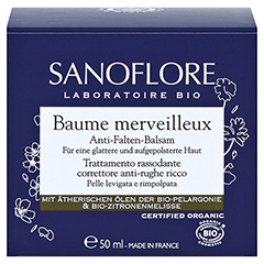 SANOFLORE Merveilleuse Anti-Falten-Balsam 50 Milliliter - Vorderseite