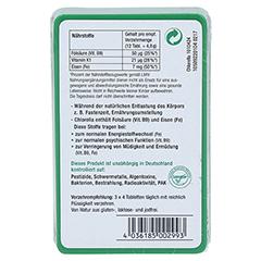 CHLORELLA MIKROALGEN 400 mg Sanatur Tabletten 100 Stück - Rückseite
