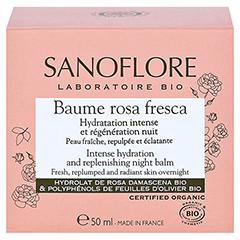 SANOFLORE Rosa regenerierender Balsam 50 Milliliter - Rückseite