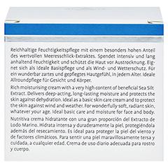LA MER Feuchtigkeitscreme ohne Parfüm 50 Milliliter - Rückseite