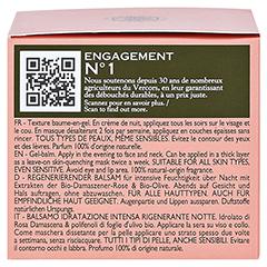 SANOFLORE Rosa regenerierender Balsam 50 Milliliter - Linke Seite