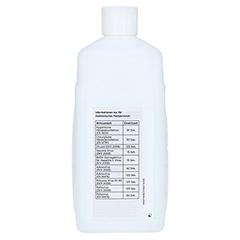 SKINMAN complete Händedesinfektion Spenderflasche 1 Liter - Rückseite