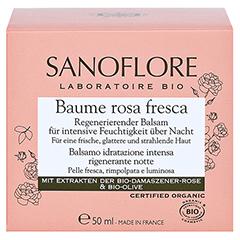 SANOFLORE Rosa regenerierender Balsam 50 Milliliter - Vorderseite