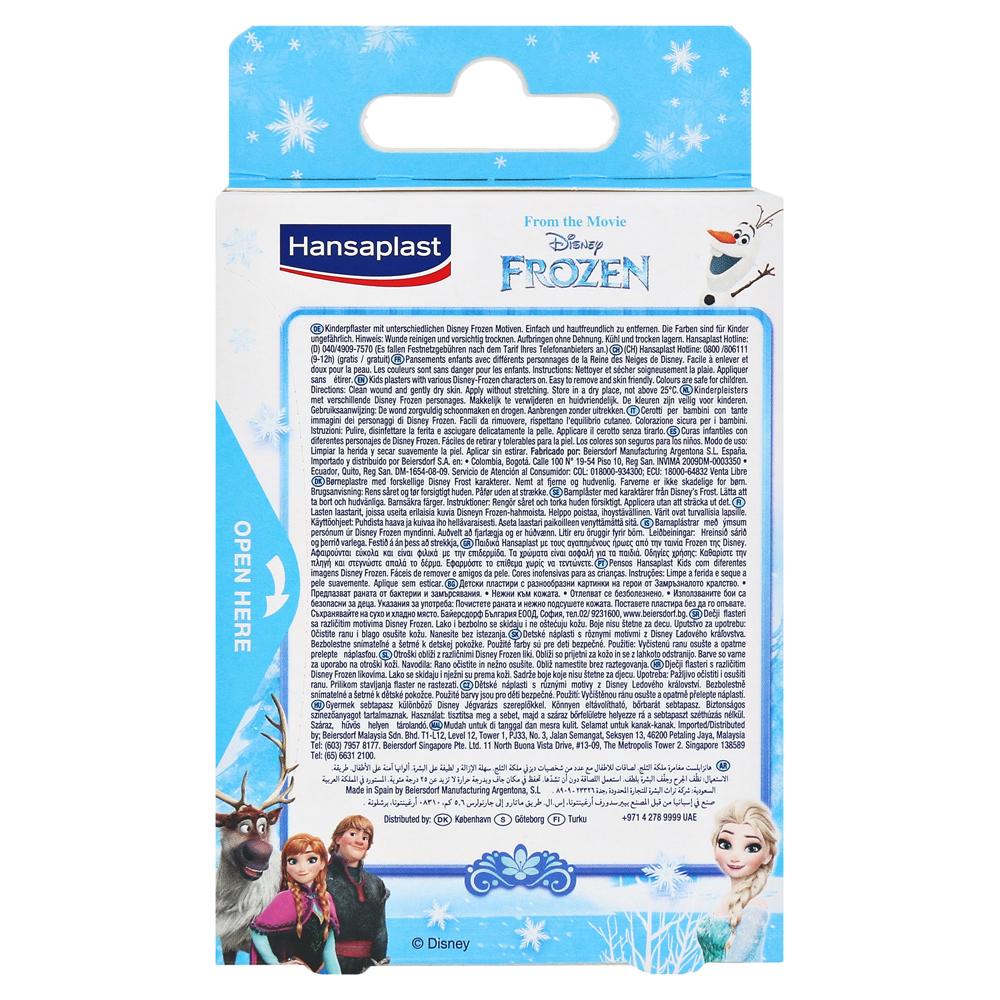 Hansaplast Kids Frozen Strips 20 Stck Online Bestellen Medpex Hansaplat Tin Rckseite