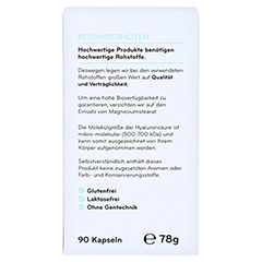 COSPHERA Hyaluron Plus Kapseln Age Protect 90 Stück - Rückseite