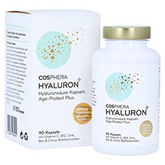 COSPHERA Hyaluron Plus Kapseln Age Protect 90 Stück