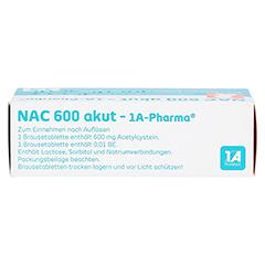 NAC 600 akut-1A Pharma 10 Stück - Oberseite