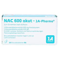 NAC 600 akut-1A Pharma 20 Stück N1 - Oberseite