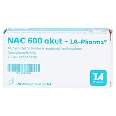 NAC 600 akut-1A Pharma 20 Stück N1 - Unterseite
