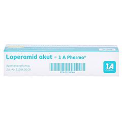 Loperamid akut-1A Pharma 10 Stück N1 - Unterseite