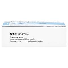 Zink-POS 3,2mg 100 Stück N3 - Unterseite