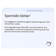 SPERMIDIN Köhler Kapseln 60 Stück - Unterseite